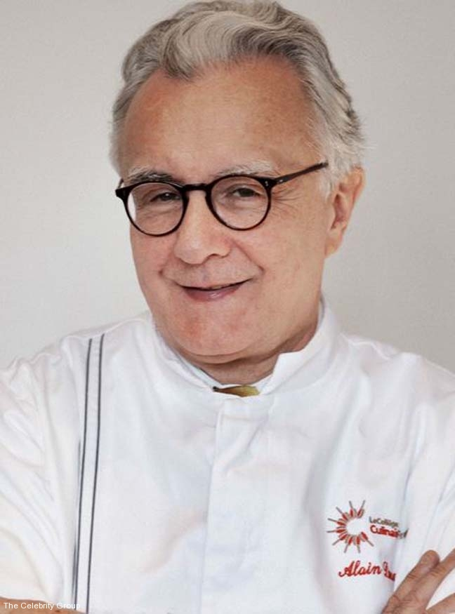 Alain Ducasse at Celebrity Group