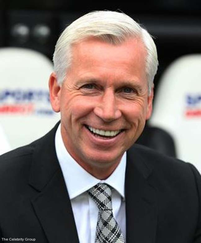 Alan Pardew at Celebrity Group