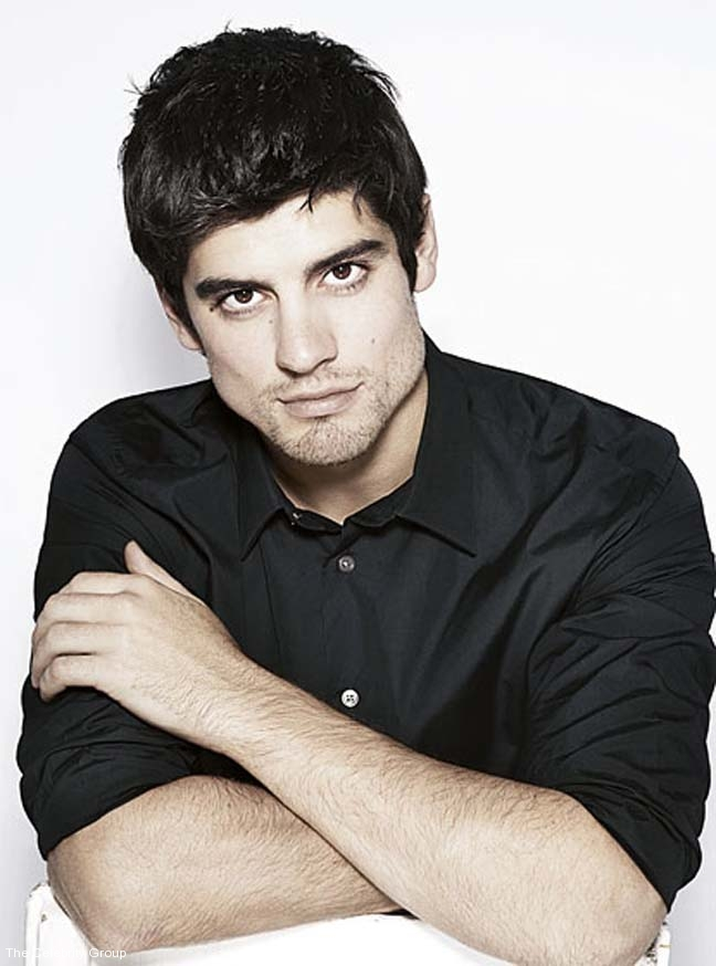Alastair Cook MBE at Celebrity Group