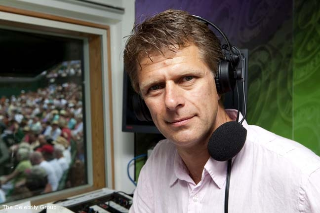 Andrew Castle at Celebrity Group