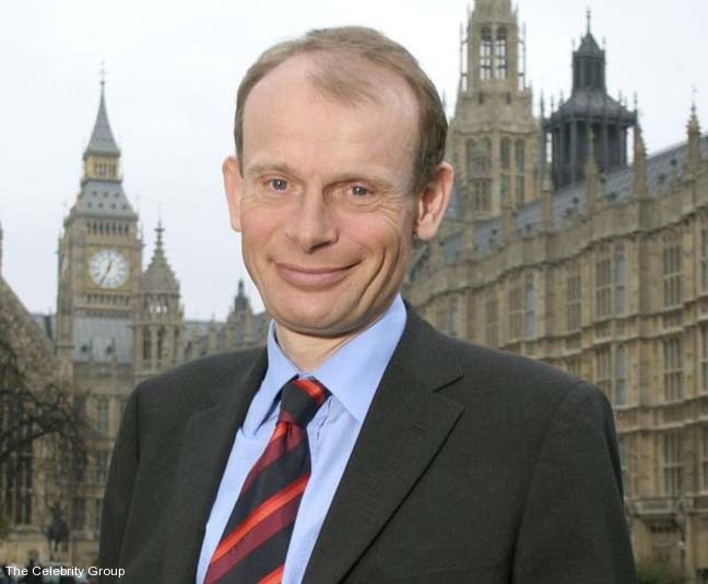 Andrew Marr at Celebrity Group