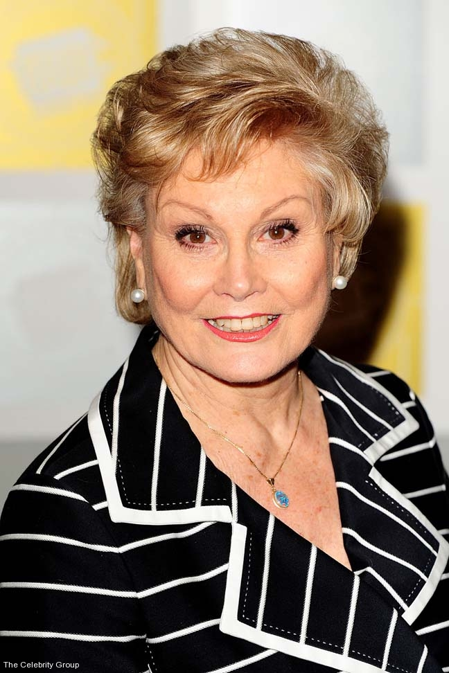 Angela Rippon OBE at Celebrity Group