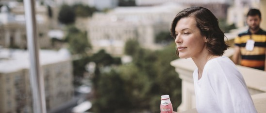Milla Jovovich for Azerbaijan Dairy at celebrity.co.uk - celebrity agents