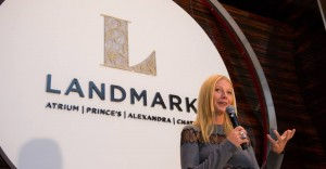 Gwyneth Paltrow Making Speech in Hong Kong from celebrity.co.uk - celebrity agents