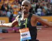 Mo Farah for Sainsbury's feature at Celebrity Group