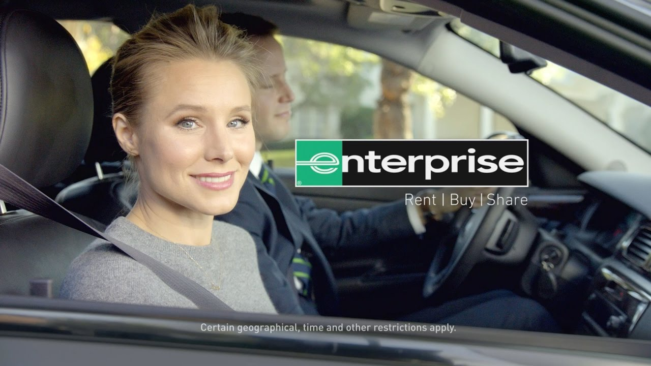 Enterprise Commerical Use Rental Car