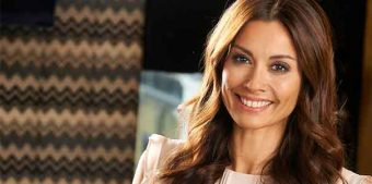 Melanie Sykes for Lyons Coffee Bags