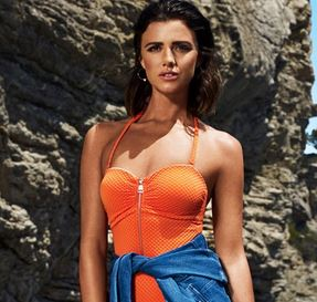 Lucy Mecklenburgh for very.co.uk feature at Celebrity Group