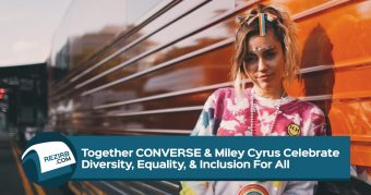 Miley Cyrus for Converse