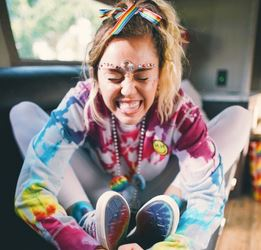 Miley Cyrus for Converse feature at Celebrity Group