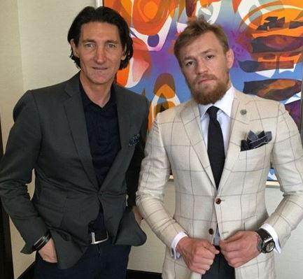 Conor McGregor Launches Clothing Line with David August