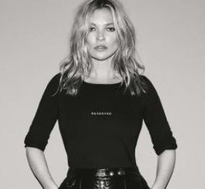 Kate Moss for Reserved feature at Celebrity Group