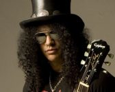 Slash for Gibson feature at Celebrity Group