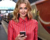 Donna Air for Virgin Trains feature at Celebrity Group