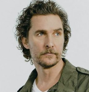 Matthew McConaughey for Kiehl's feature at Celebrity Group