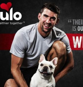Michael Phelps for Nulo Pet Food feature at Celebrity Group