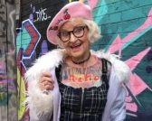 Baddie Winkle for hotels.com feature at Celebrity Group
