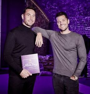 Mark Wright for Cadbury Milk Tray feature at Celebrity Group