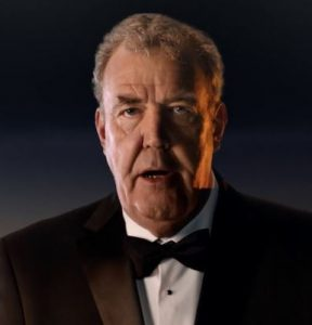 Jeremy Clarkson for Emirates Airlines feature at Celebrity Group
