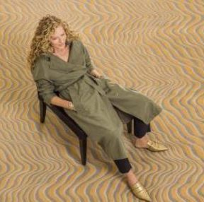 Kelly Hoppen for Brintons feature at Celebrity Group
