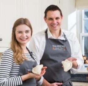 Martha Collison for Warrens Bakery feature at Celebrity Group