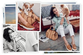 Kendall Jenner for Tod's