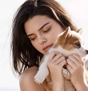 Kendall Jenner for Tod's feature at Celebrity Group