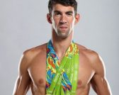 Michael Phelps for Silk feature at Celebrity Group