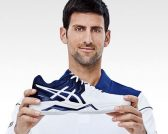 Novak Djokovic for Asics feature at Celebrity Group