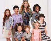 Sarah Jessica Parker for Gap Kids feature at Celebrity Group