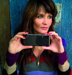 Helena Christensen for Huawei feature at Celebrity Group