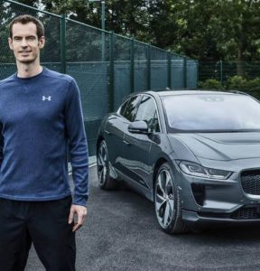 Andy Murray for Jaguar feature at Celebrity Group