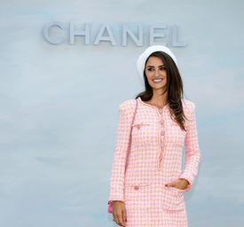 Penelope Cruz for Chanel feature at Celebrity Group