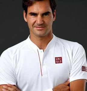 Roger Federer for UNIQLO feature at Celebrity Group