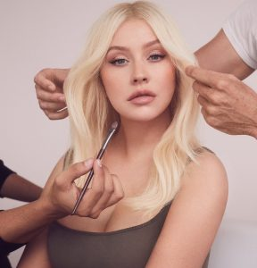 Christina Aguilera product launch for Lidl feature