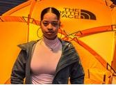 Ella Mai for The North Face feature at Celebrity Group