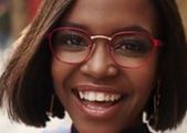 Oti Mabuse for Specsavers feature at Celebrity Group