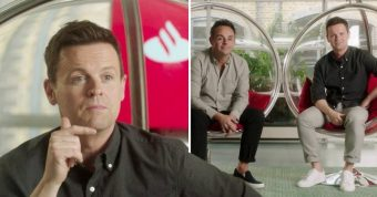 Ant and Dec for Santander