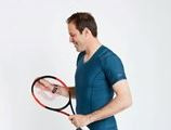 Greg Rusedski for ActivePosture feature at Celebrity Group