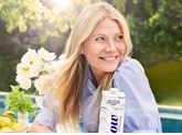 Gwyneth Paltrow for Flow Alkaline Spring Water feature at Celebrity Group