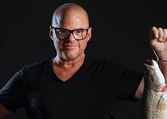 Heston Blumenthal for Murray Cod Australia feature at Celebrity Group