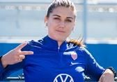 Alex Morgan for Volkswagen feature at Celebrity Group