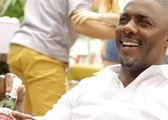 Idris Elba for Stella Artois feature at Celebrity Group