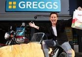 Joe Swash for Greggs feature at Celebrity Group