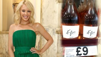 Kylie Minogue for Benchmark Drinks