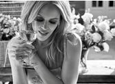 Kylie Minogue for Benchmark Drinks feature at Celebrity Group