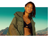 Willow Smith for Onitsuka Tiger feature at Celebrity Group